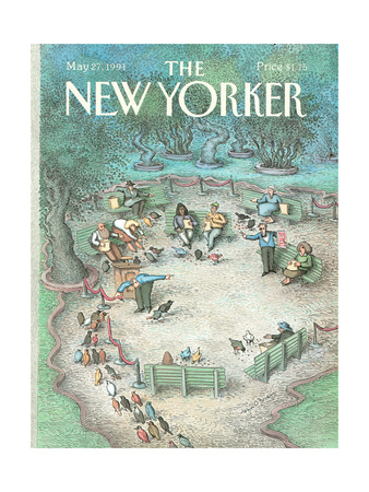 The New Yorker Cover - May 27, 1991 Giclee Print by John O'brien