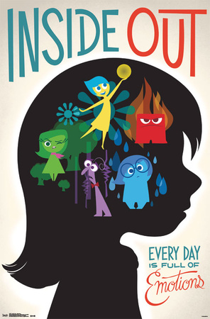Inside Out - Emotions Prints
