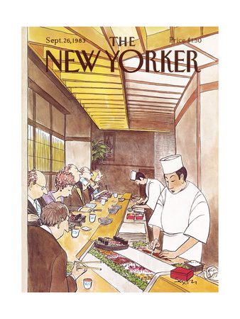 The New Yorker Cover - September 26, 1983 Giclee Print by Charles Saxon