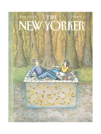 The New Yorker Cover - June 15, 1992 Giclee Print by John O'brien
