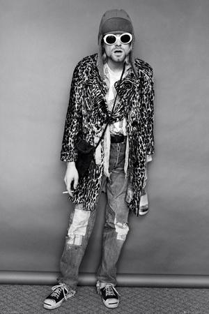 Kurt Cobain Standing Photo