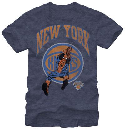 New York Knicks- Spiderman Shirt