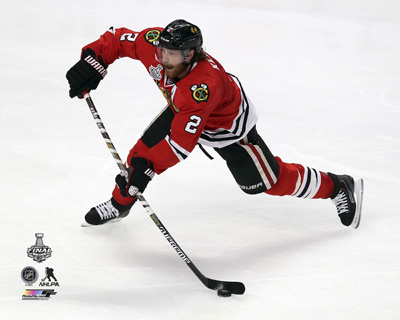 Duncan Keith Game 3 of the 2015 Stanley Cup Finals Photo