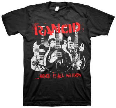 Rancid- Honor Is All We Know Cover T-shirts