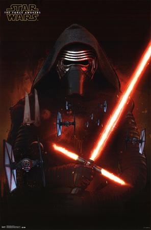 Kylo Ren Star Wars 7 VII poster art merchandise