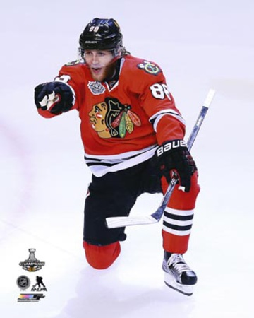 Patrick Kane Goal Celebration Game 6 of the Stanley Cup Finals Photo