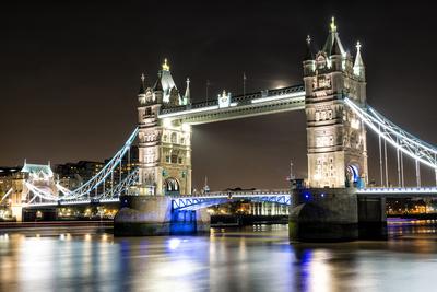 London Tower Bridge across the River Thames Photographic Print by Mohana AntonMeryl