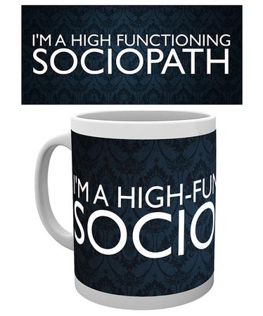 Sherlock - Sociopath Mug Mok