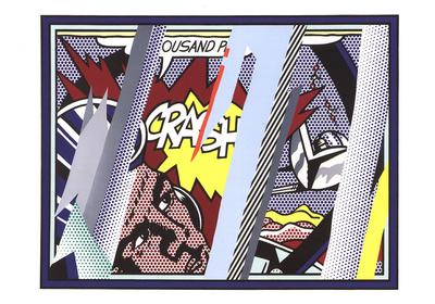 Reflections on Crash Prints by Roy Lichtenstein
