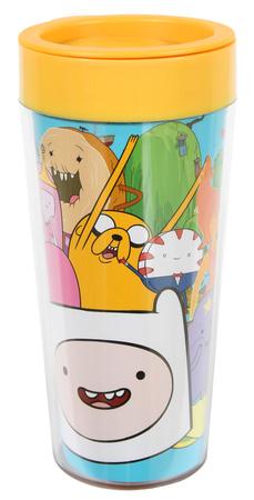 Adventure Time 16 oz. Plastic Travel Mug Mug