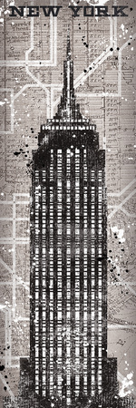New York Heights Poster by Tom Frazier