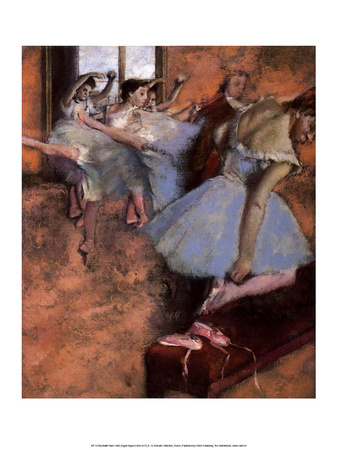Ballet Class, 1880 Prints by Edgar Degas
