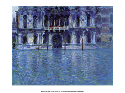 The Palazzo Contarini, 1908 Prints by Claude Monet