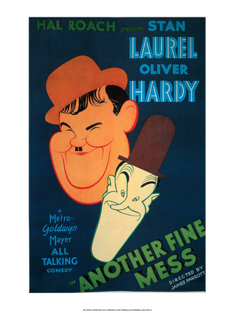 Vintage Movie Poster - Laurel & Hardy, Another Fine Mess Posters