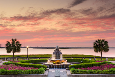 Charleston, South Carolina, USA at Waterfront Park. Photographic Print by  SeanPavonePhoto