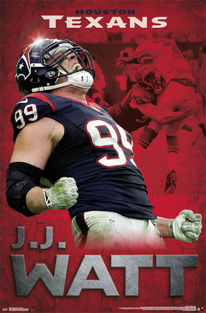Houston Texans- Jj Watt 2015 Prints