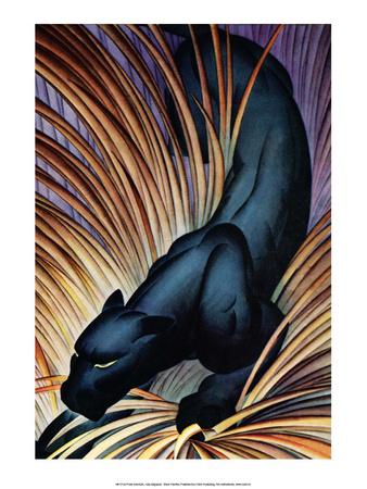 Black Panther Print by Frank Mcintosh
