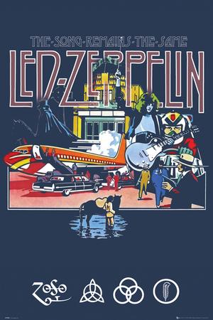 Led Zeppelin Remains Poster