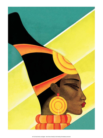 African Beauty Prints by Frank Mcintosh
