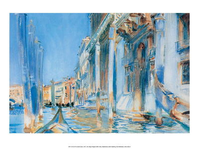 On the Grand Canal, 1907 Posters by John Singer Sargent