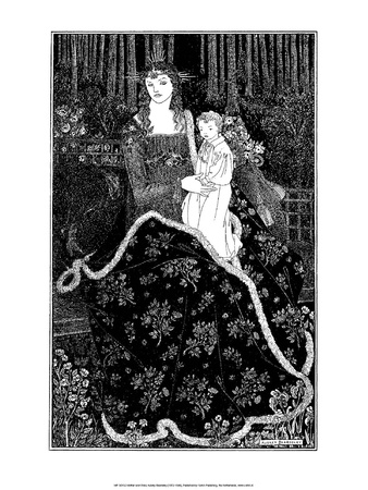 Mother and Child Posters by Aubrey Beardsley