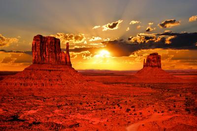Arizona Sunrise Photographic Print by Jeni Foto
