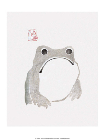 Japanese Frog Prints