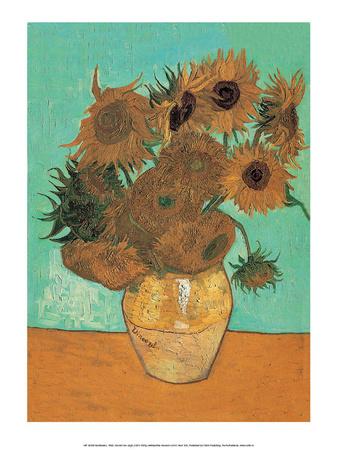 Sunflowers, 1888 Prints by Vincent van Gogh