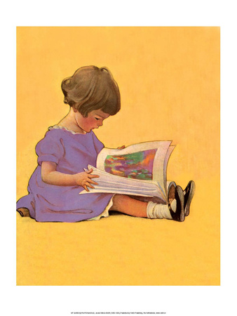 My First Picture Book Prints by Jessie Willcox Smith
