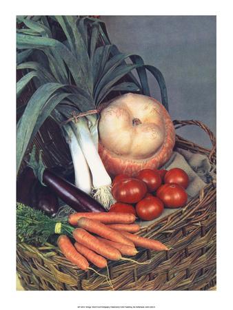 Vegetable Harvest Prints