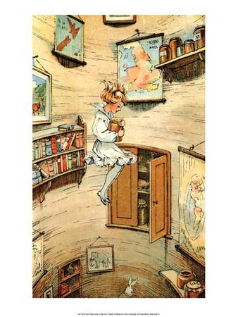 Alice in Wonderland Poster by W H Walker