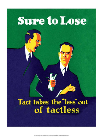 "Vintage Business Tact takes the ""less"" out of Tactless Prints"