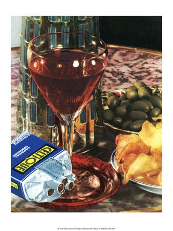 Wine & Cigarettes Posters