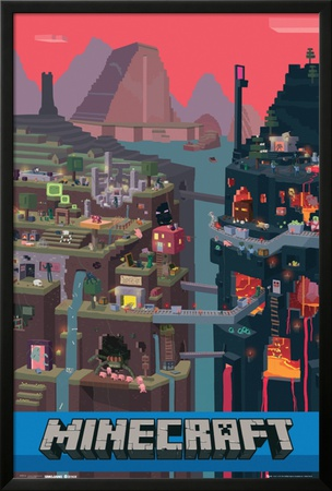 Mine Craft World Posters