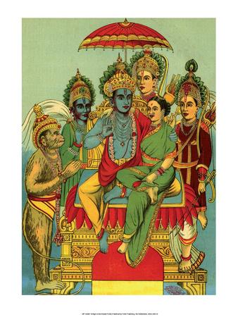Vintage Indian Bazaar Posters