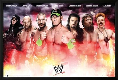 WWE - Collage Prints