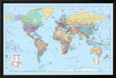 World Map 2 Prints