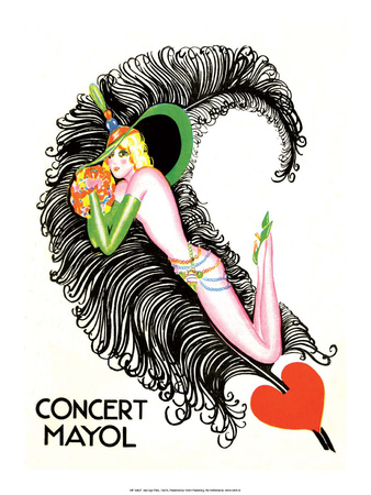 Jazz Age Paris, Concert Mayol Prints