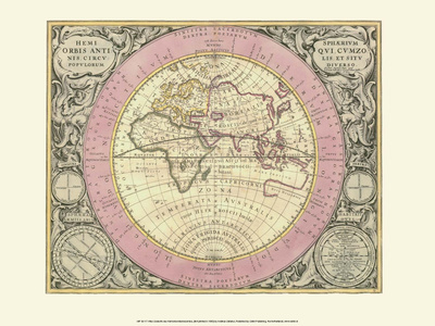 Celestial Map Posters by Andreas Cellarius
