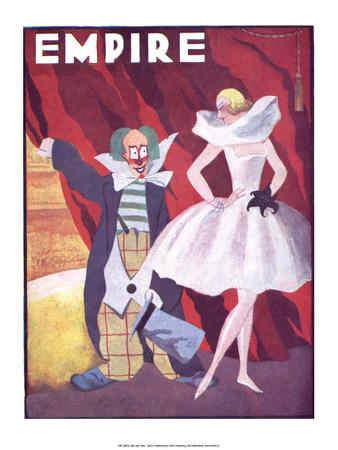 Jazz Age Paris, Empire Poster