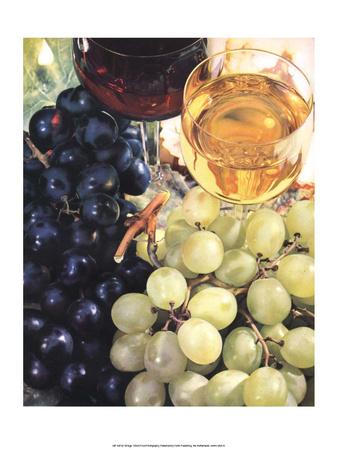 Wine & Grapes Prints