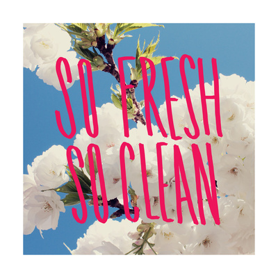 So Fresh So Clean Giclee Print by Leah Flores