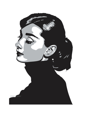 Audrey Hepburn - Always Giclee Print by Emily Gray