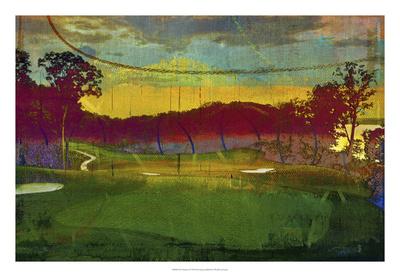Golf Abstract I Giclee Print by Sisa Jasper