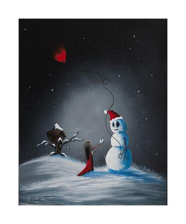 A Christmas Friend Photographic Print by Shawna Erback