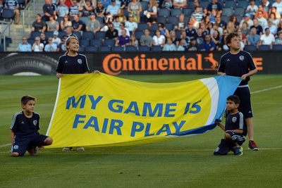 Mls: Colorado Rapids at Sporting KC Photographic Print by Peter G Aiken
