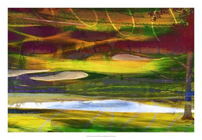 Golf Abstract II Giclee Print by Sisa Jasper
