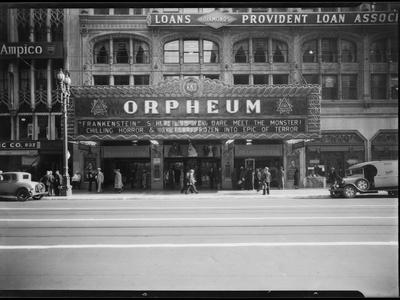 Orpheum Theater Photographic Print by Dick Whittington Studio