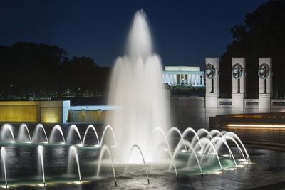 The National World War II Memorial in Washington, Dc. Photographic Print by Jon Hicks