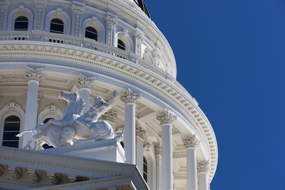 The California State Capitol. Photographic Print by Jon Hicks